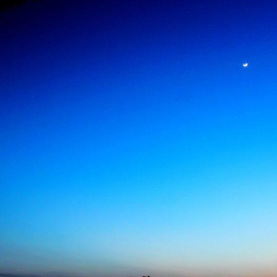 langit biru lanskap Android SmartPhone Wallpaper
