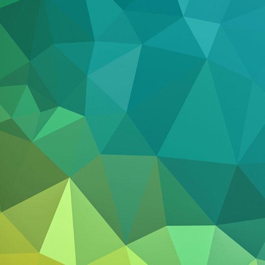 Pola hijau Keren kuning Android SmartPhone Wallpaper