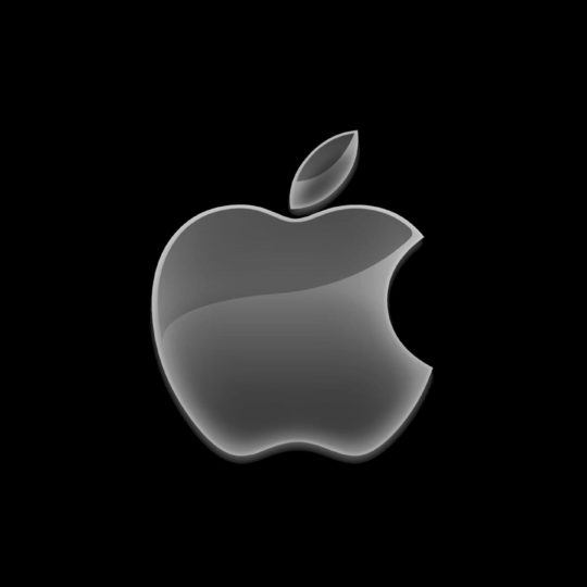 Logo Apple keren hitam Android SmartPhone Wallpaper