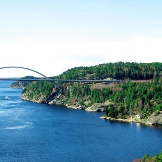pemandangan Jembatan Android SmartPhone Wallpaper