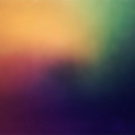 Pola kuning-hijau Android SmartPhone Wallpaper