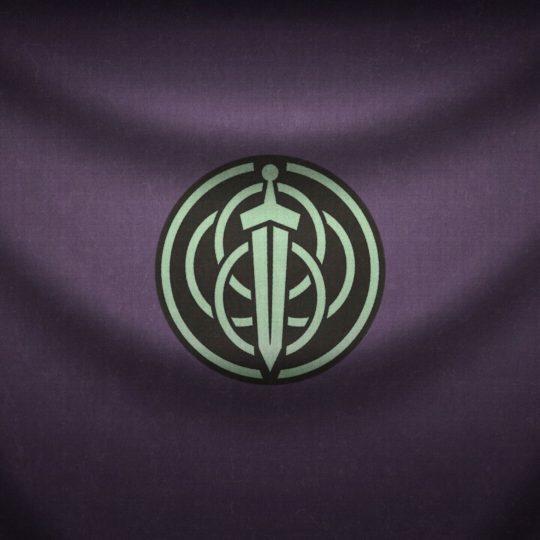 logo ungu Android SmartPhone Wallpaper