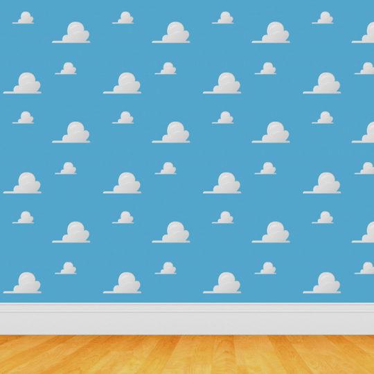 Pola biru langit Android SmartPhone Wallpaper