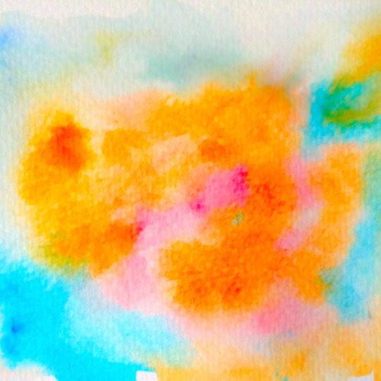 cat pola cahaya biru oranye Android SmartPhone Wallpaper