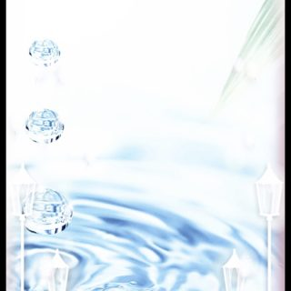 Air transparan