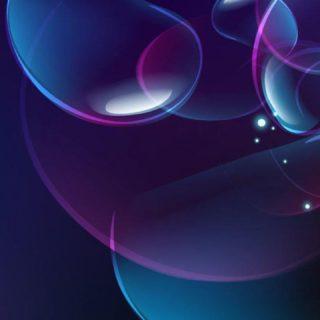 Pola biru ungu
