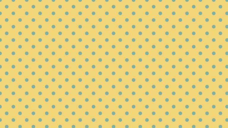 Pola polka dot kuning Desktop PC / Mac Wallpaper