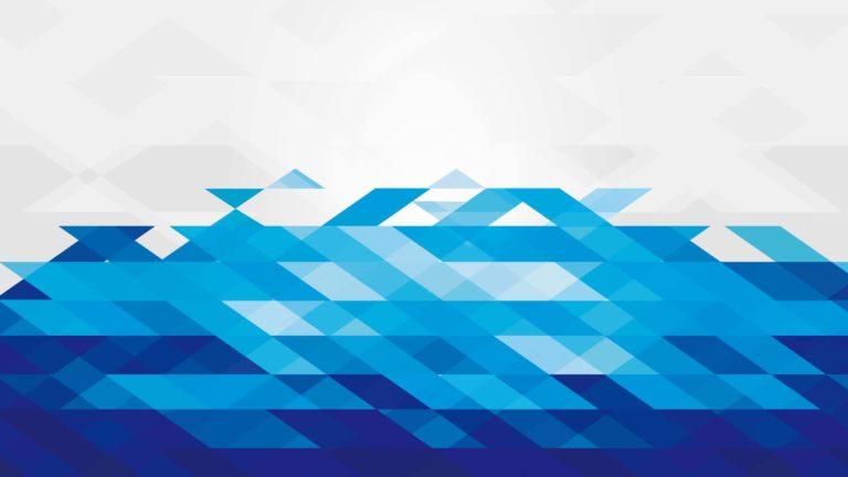 Pola keren biru putih Desktop PC / Mac Wallpaper