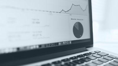 MacBook grafik Analytics keren