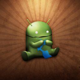 logo Android iPad / Air / mini / Pro Wallpaper