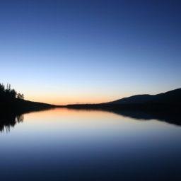 danau lanskap iPad / Air / mini / Pro Wallpaper