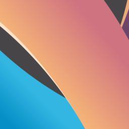 Pola merah biru dan hitam iPad / Air / mini / Pro Wallpaper