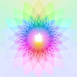 logo Apple berwarna-warni iPad / Air / mini / Pro Wallpaper