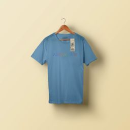 Biru T-shirt iPad / Air / mini / Pro Wallpaper