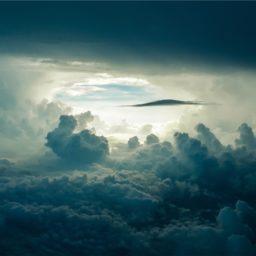 awan langit iPad / Air / mini / Pro Wallpaper
