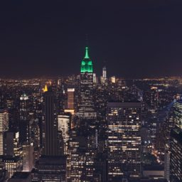 pemandangan New York Empire State Building iPad / Air / mini / Pro Wallpaper