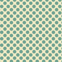 Pola polka dot hijau dan kuning iPad / Air / mini / Pro Wallpaper