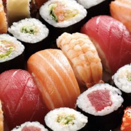 Makanan sushi merah iPad / Air / mini / Pro Wallpaper