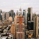 pemandangan Pemandangan kota New York