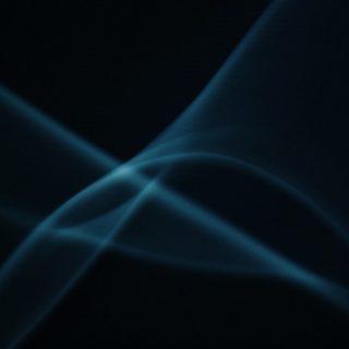 pola hitam iPhone4s Wallpaper