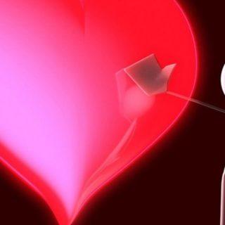 Perempuan Hati Hitam Merah iPhone4s Wallpaper