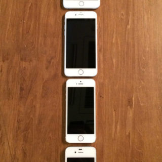 iPhone4S, iPhone5s, iPhone6, iPhone6Plus meja kayu iPhone5s / iPhone5c / iPhone5 Wallpaper