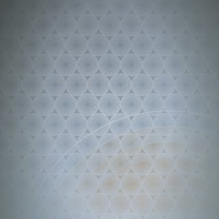 Dot lingkaran pola gradasi Biru iPhone5s / iPhone5c / iPhone5 Wallpaper