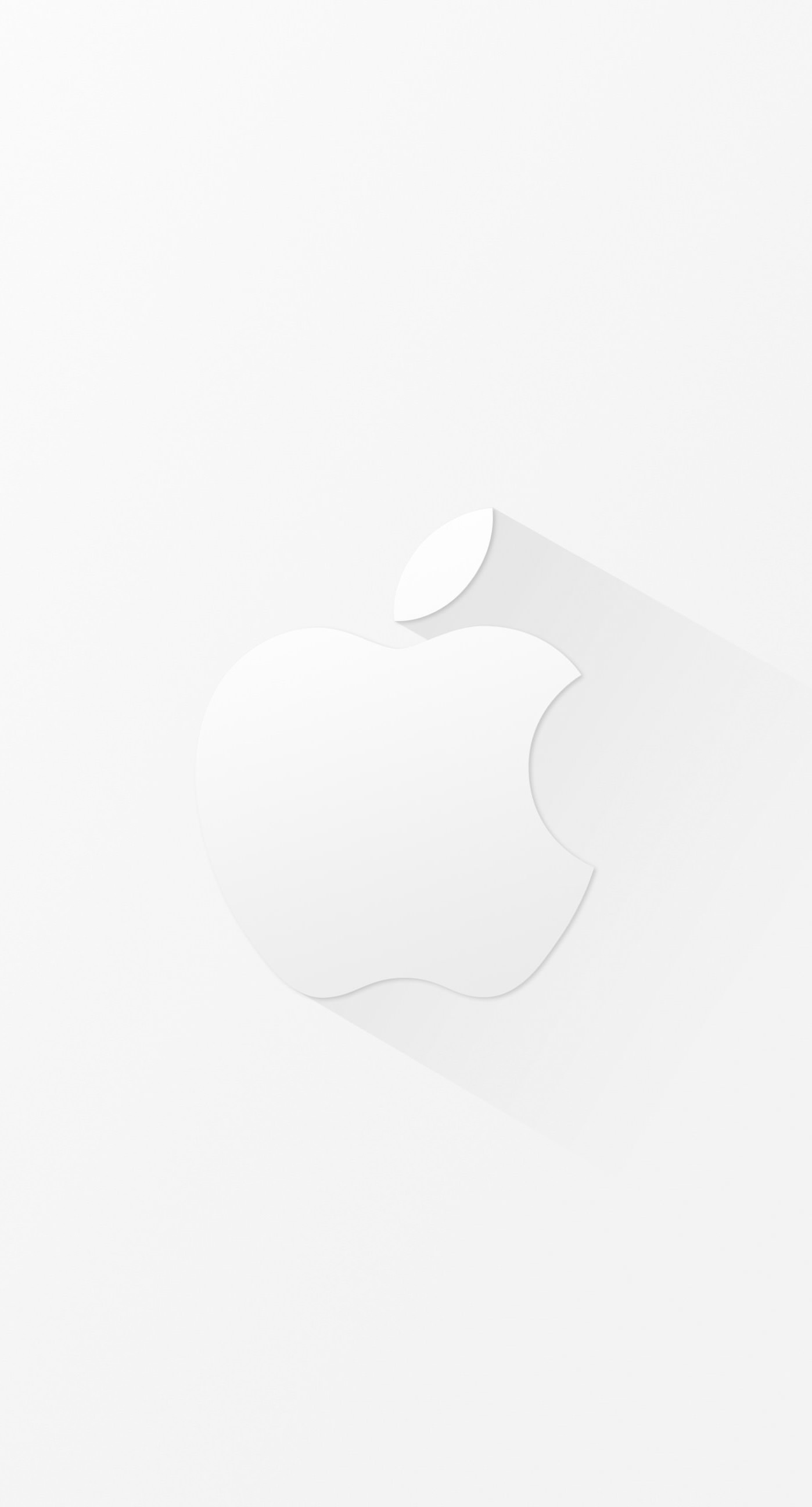 Keren Logo Apple Putih Wallpaper Sc Iphone6splus