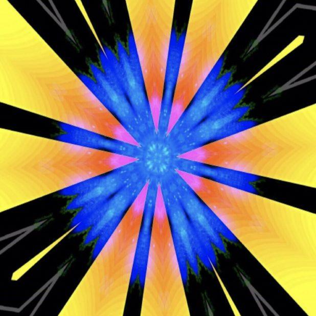 Radiasi kuning iPhone7 Plus Wallpaper