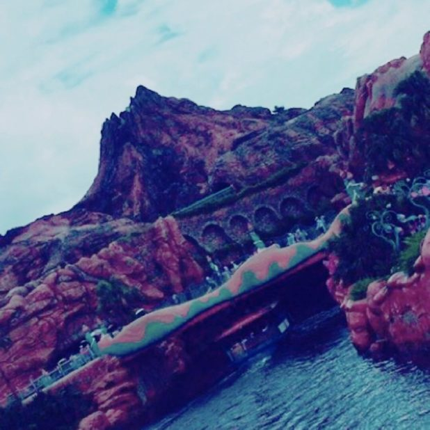 Pemandangan Disneysea iPhone7 Plus Wallpaper