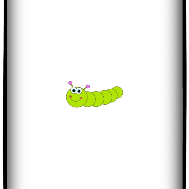 Ilustrasi Caterpillar iPhone7 Plus Wallpaper
