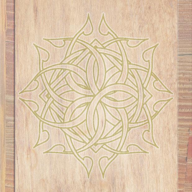 gandum Brown kuning hijau iPhone7 Plus Wallpaper