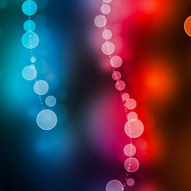 Pola kuning merah biru iPhone7 Plus Wallpaper