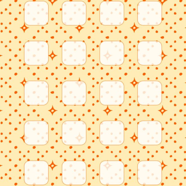 Pola rak kuning oranye iPhone7 Plus Wallpaper