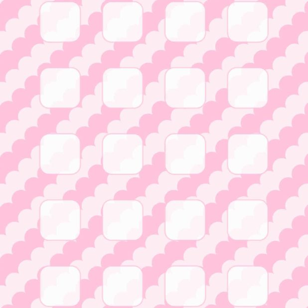 Pola rak merah muda untuk anak perempuan iPhone7 Plus Wallpaper