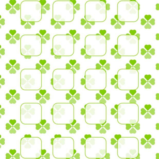 Pola Semanggi untuk hijau gadis rak iPhone7 Plus Wallpaper