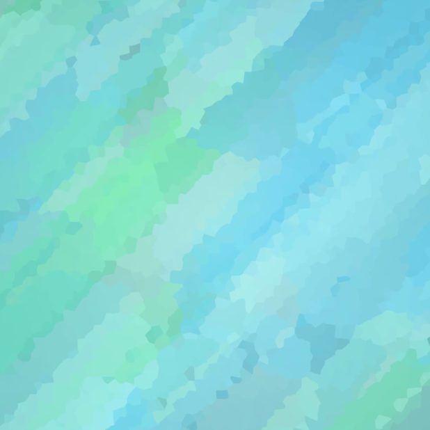 Pola ilustrasi biru-hijau iPhone7 Plus Wallpaper