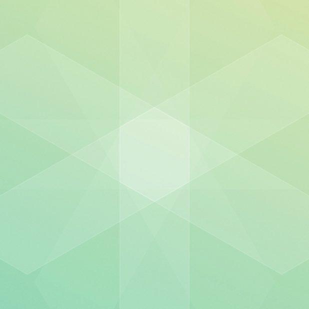 Pola keren kuning-hijau iPhone7 Plus Wallpaper