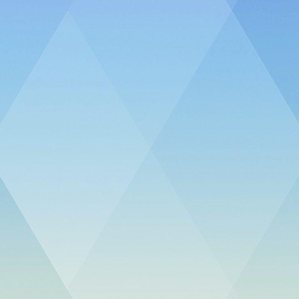 Pola kuning biru Keren iPhone7 Plus Wallpaper