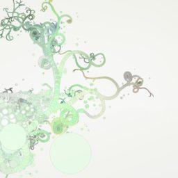 クール緑の iPad / Air / mini / Pro 壁紙