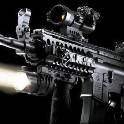 クール機関銃の iPad / Air / mini / Pro 壁紙