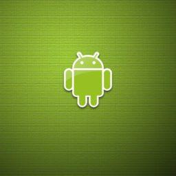 ロゴアンドロイド緑の iPad / Air / mini / Pro 壁紙