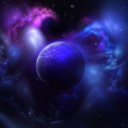 宇宙紫の iPad / Air / mini / Pro 壁紙