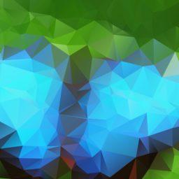 模様青緑の iPad / Air / mini / Pro 壁紙