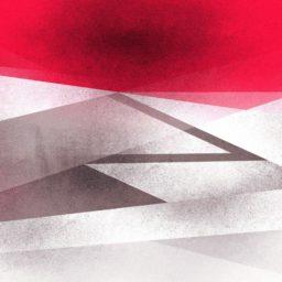 模様赤白の iPad / Air / mini / Pro 壁紙