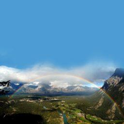 風景虹の iPad / Air / mini / Pro 壁紙