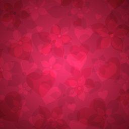 模様女子向け赤の iPad / Air / mini / Pro 壁紙
