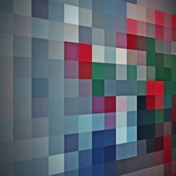 模様灰赤緑の iPad / Air / mini / Pro 壁紙