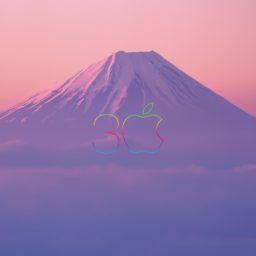 apple風景山紫の iPad / Air / mini / Pro 壁紙