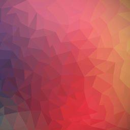 模様赤紫桃橙クールの iPad / Air / mini / Pro 壁紙